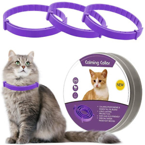 3 Pack Calming Collar For Cats Calming Collars Natural Cat Pheromones Calming