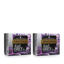 Twinings Earl Grey la nostra miscela classica 100 bustine di tè 2 Pack