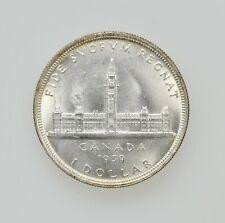 1939 CANADIAN SILVER DOLLAR CANADA SILVER $1 COIN HIGH GRADE