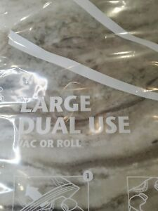 Original Space Bag Storage  Large Dual Use Vacuum or Roll New lot of 6