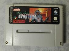 ARCHER MACLEAN'S SUPER DROPZONE SUPER NINTENDO SNES PAL EUR CARTUCCIA ORIGINALE