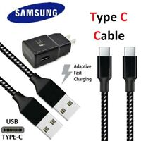 For Samsung Galaxy S10 S9 S8 Note 8 10 3/6/10Ft Fast Charger Type C USB-C Cable