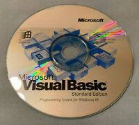 Microsoft Visual Basic Standard Edition 4.0 PC Computer Software (CD Only) RARE!