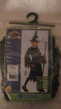 Halloween Concepts Costume Witch For Kids 8 To 10 Large Size 12-14       NEW h16