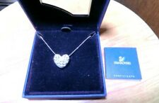 Swarovski beautiful & charming Heart pendant with box from Japan