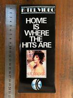 K-TEL VIDEO CATALOGUE rare Australian VHS era FLIER shop Catalogue Brochure