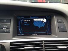 INFO-GPS-TV SCREEN AUDI A6 05 06 07 08 09 10 11 NAVIGATION SCREEN