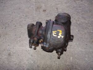 Farmall M IH tractor working carburetor assembly