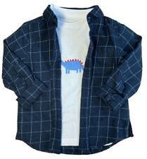 Bel and Bo baby boys checked shirt size 12-18 months BNWT