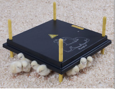 25 x 25cm Brooder Hen Chick Poultry Brooding Heat Lamp Heating Plate UK seller