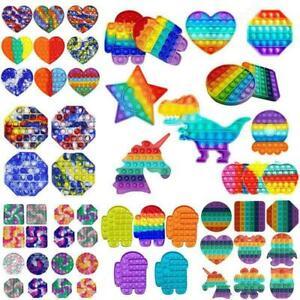 Push Pop for it Fidget Toy Bubble Sensory Stress Relief Special Needs Autism UK