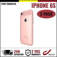 3IN1 Focus Armor Cover Cas Coque Etui Silicone Hoesje Case For iPhone 6S Pink