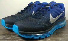 Nike Air Max 2017 'Dark Obsidian' Men's Size 10 Black/Blue Running 849559-400