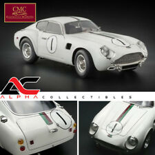 CMC M-139 1:18 1961 ASTON MARTIN RACING WHITE DB4 GT ZAGATO DIECAST LE 2,500
