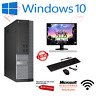 FAST GAMING DELL BUNDLE TOWER PC FULL SET COMPUTER SYSTEM INTEL i3 8GB 1TB GT710