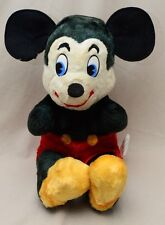 Vintage Disney Mickey Mouse Plush California Stuffed Toys Productions USA 19""