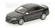 Very Rare Audi RS4 V8 B7 8E 2008 Saloon Phantom Black 1:43 MINICHAMPS