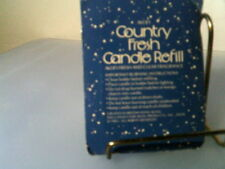Rhtf Vtg 1985 Avon Country Fresh Candle Refill (Chicken)- New Sealed-Free Ship