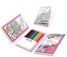 Colour Therapy Travel Set / Relax with Colours / Incl pencils / Stunning Designs