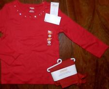 Legging Outfit Red Gymboree Cotton Girl size 3 New