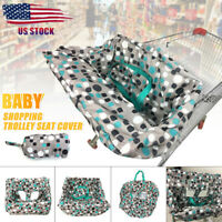 Baby Kid Shopping Trolley Cart Cover Seat Child High Chair Protective Pad Mat