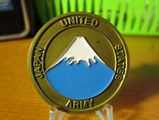 United States Army Japan Office of the Surgeon DCSLOG Challenge Coin #3859