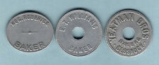Australia - BREAD TOKENS. R.Roderick, E.T.Williams & Yeatman Bros.. All One Loaf