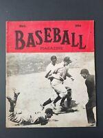 VINTAGE 1943 ~ Baseball Magazine   Inside Cover: Babe Ruth, Ted Williams   J128