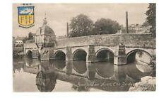 BRADFORD ON AVON bridge Frith's postcard 979