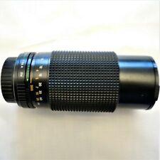 Sears Model 202. 737020.  F= 80 - 200mm. Camera Lens With Macro Made in Korea.
