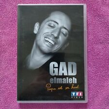dvd spectacle Gad Elmaleh papa est en haut