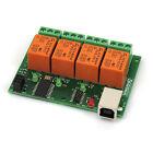 USB 4 Canaux Carte Relais/relays - 220V / USB relay board - v2