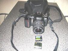 """Spiegelreflex Kamera """" Nikon F601  """" + neuwertige Leder Tasche"""