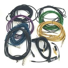 Audio Stereo Guitar Instrument Amp Microphone Cable Lot Fender California IRig