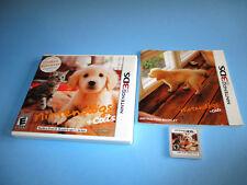 Nintendogs + Cats Golden Retriever & New Friends (Nintendo 3DS) w/Case & Manual