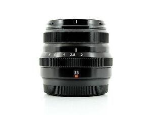 Fujifilm XF 35mm f/2 R WR Lens Black