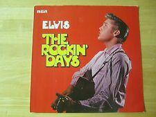 Elvis Presley LP, The Rockin' Days, RCA # PL89717, Made in Germany