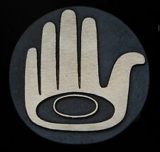 Protecting Hand NWC Totem Solid Bronze Belt Buckle Rainbow Metals Brand New