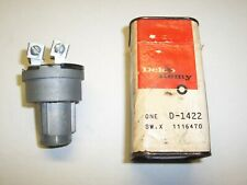 NOS (unopened) Ignition Switch - 1951 thru 56 Cadillac - GM 1116470, Delco D1422