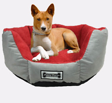 Padded Pet Lounge, Cat and Dog Bed, Pet Basket, Plush Lining, Superior Comfort