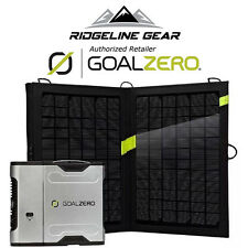 GOAL ZERO Sherpa 50 Portable Charger Solar Kit w/ Nomad 13 Panel & AC Inverter
