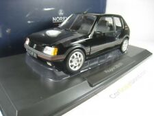 PEUGEOT 205 GTI 1.9 1988 1/18 NOREV (BLACK)