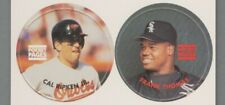 1993 Pocket Pages Magazine Inserts Pogs, Cal Ripken and Frank Thomas