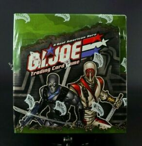 GI JOE TCG Booster box Base Set Brand New Factory Sealed - Limited Qty Available