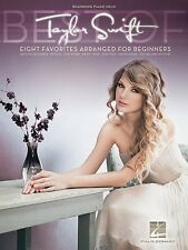 Taylor Swift - Beginning Piano Solo Book *NEW* Sheet Music Easy Inc. Love Story