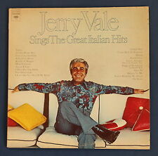 """JERRY VALE Sings The Great Italian Hits 12"""" 2LP Gatefold 72 US Columbia PG31938"""