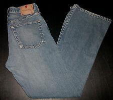 Abercrombie & Fitch Designer Jeans Sz 8 32x32 Blue Flare Blue Denim p2190