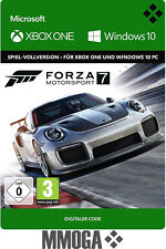 Forza Motorsport 7 - Xbox One - Windows 10 PC Spiel - Digital Game Code [Global]