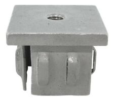 Endkappe, Stahleinschlagstopfen mit M8 Gewinde für 40 x 40 mm Rohr - #2520