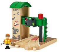 Brio SIGNAL STATION Wooden Toy Train BN